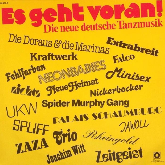 Es geht voran! Die neue deutsche Tanzmusik album art