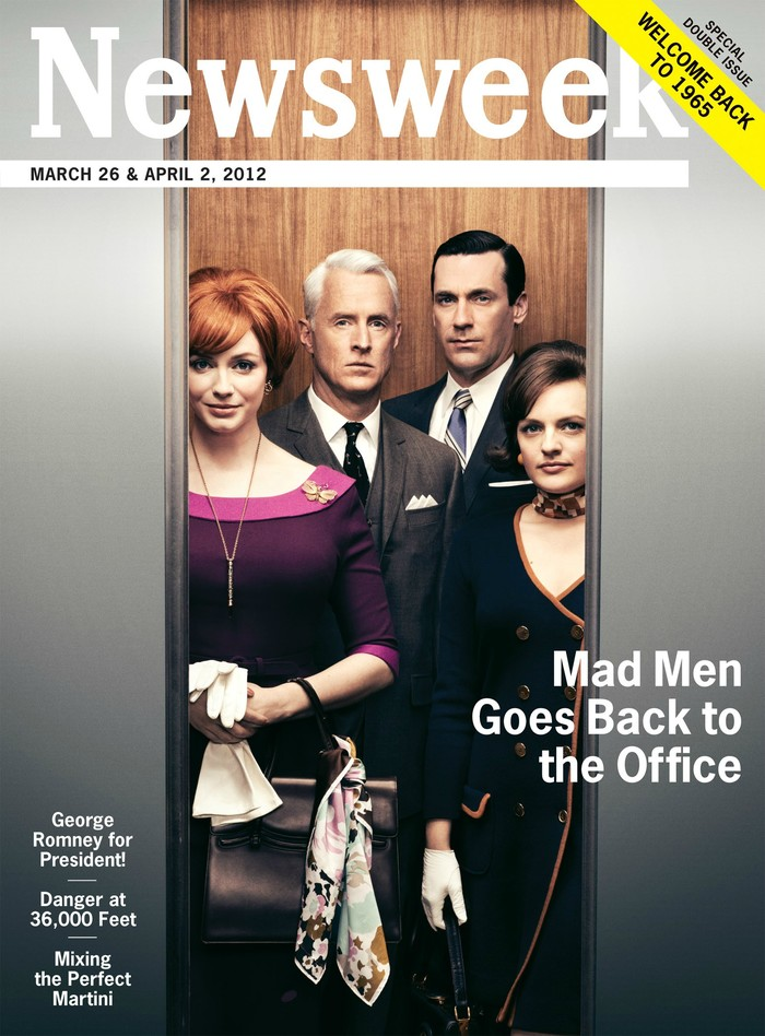 Newsweek, Mar 26 & Apr 2, 2012 (Mad Men) 1