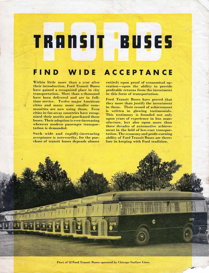 Ford Transit Buses brochure 1