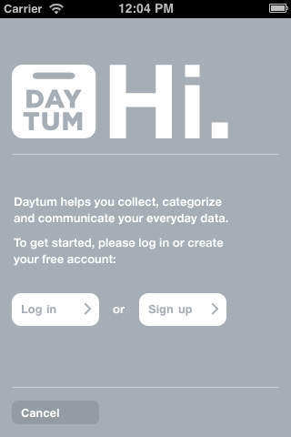 Daytum website and app 7