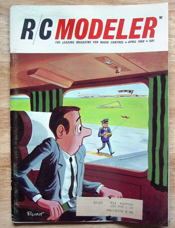 R/C Modeler magazine, Apr 1968