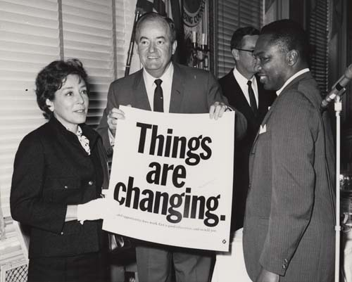 """""""Things are changing."""" campaign 2"""