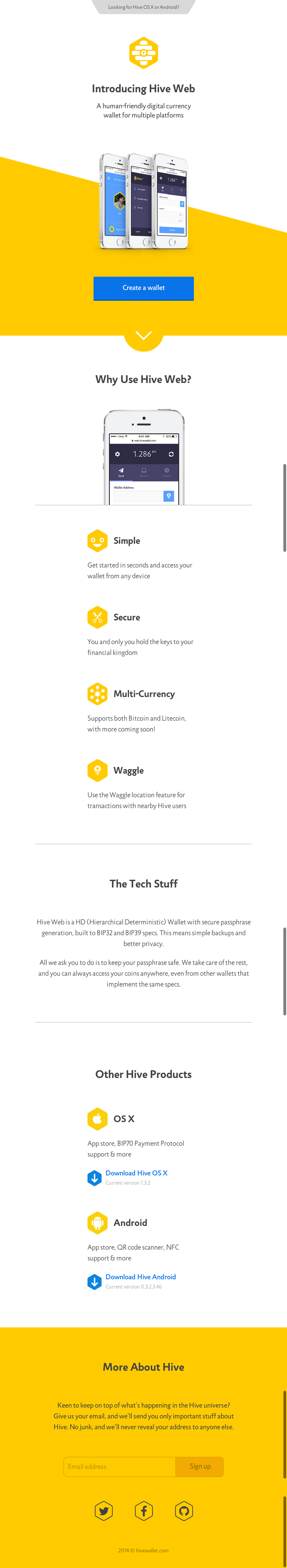 Hive Web and Hive Wallet 3
