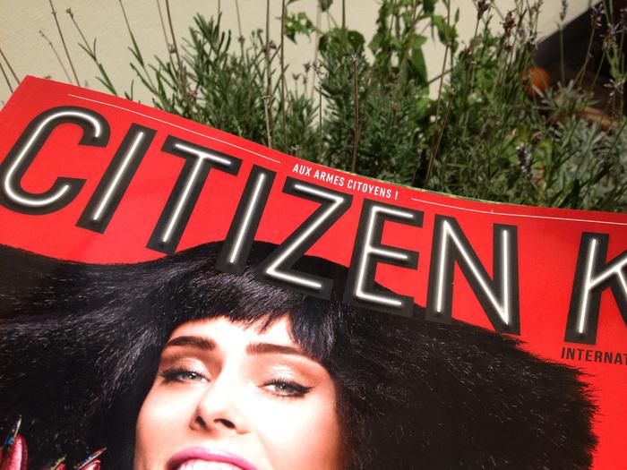 Citizen K, Summer 2014 1
