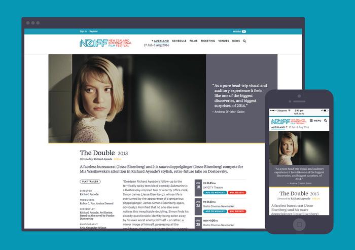 New Zealand International Film Festival website 1