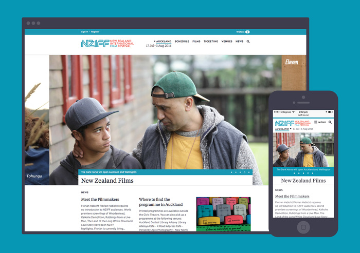 New Zealand International Film Festival website 2