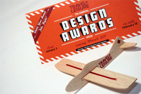 Travel + Leisure Design Awards 2011 Mailer 6