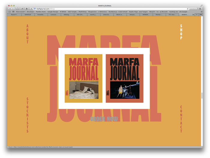 Marfa Journal website 1