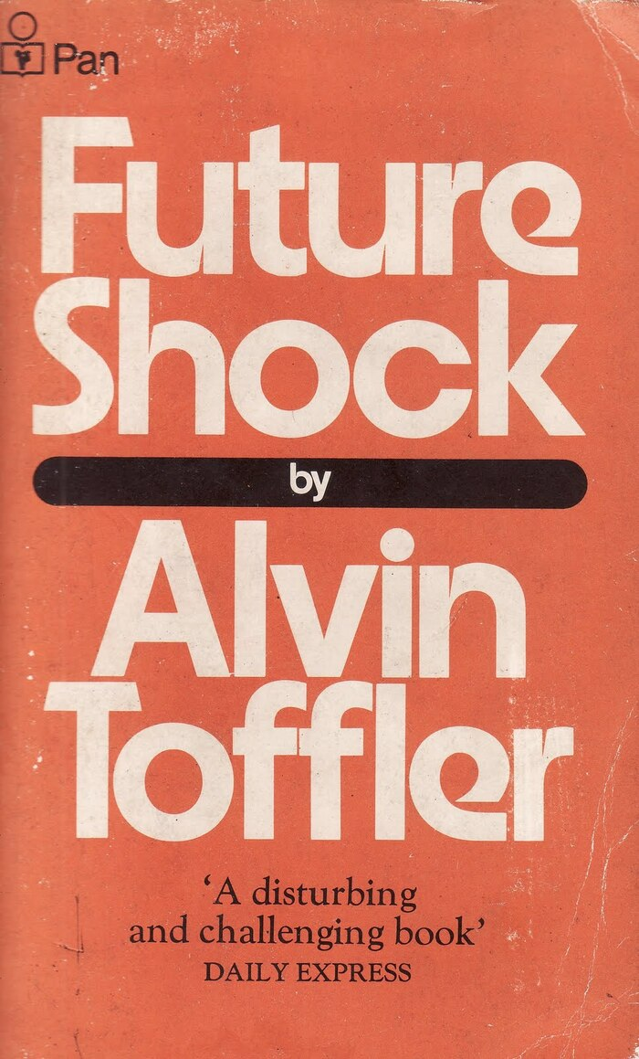 Future Shock, 1972 Pan Books edition 1