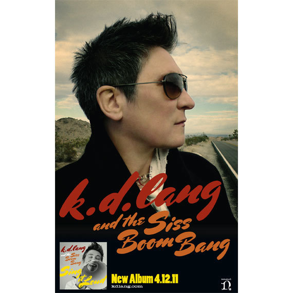 Sing it Loud by k. d. lang and the Siss Boom Bang 3