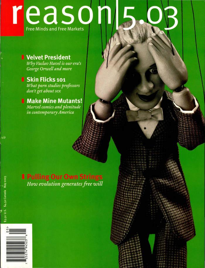 Reason Magazine, Dec. 2001 – Aug. 03 6