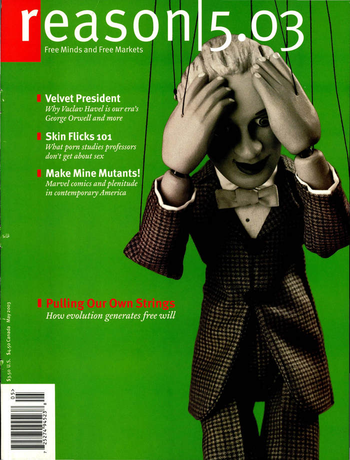 Reason Magazine, Dec. 2001 – Aug. 03 6