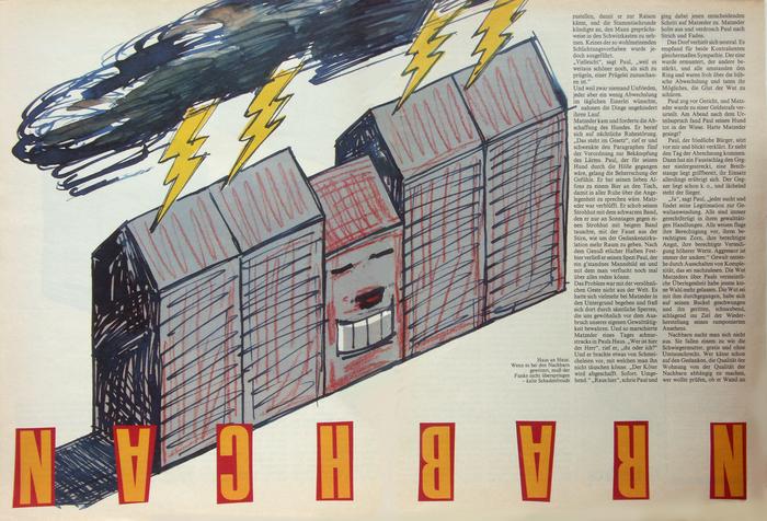 Frankfurter Allgemeine Magazin feature spreads, 1980s 3
