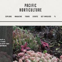 <cite>Pacific Horticulture</cite> website