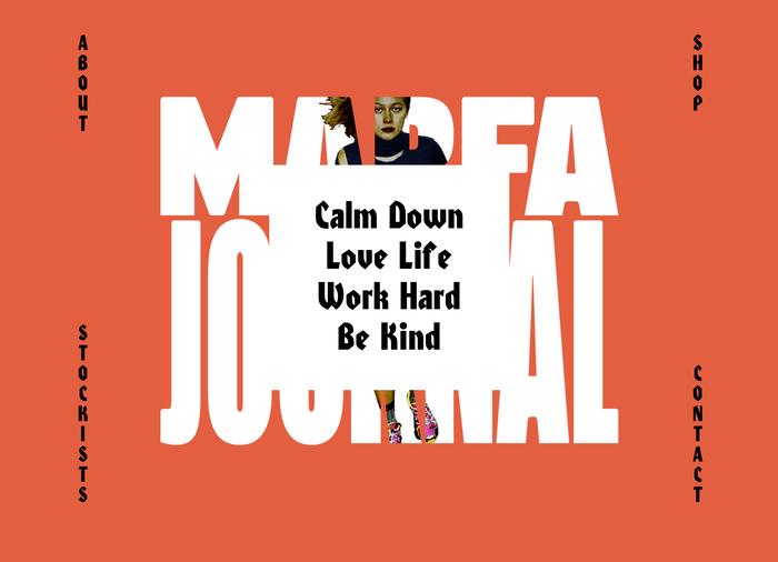 Marfa Journal website 2