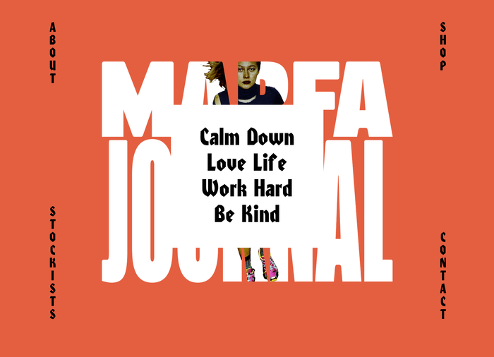 Marfa Journal website 2