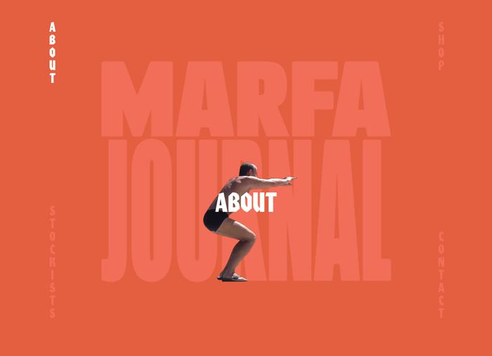 Marfa Journal website 3