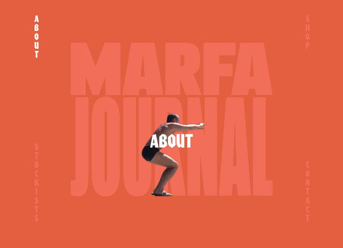 Marfa Journal website 3