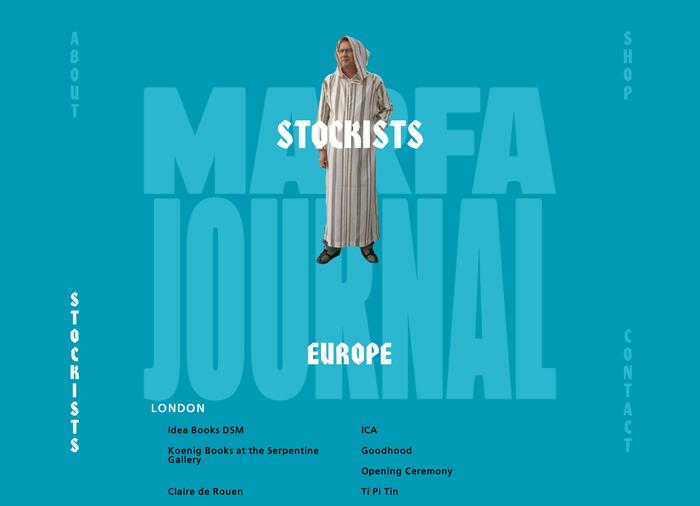 Marfa Journal website 4
