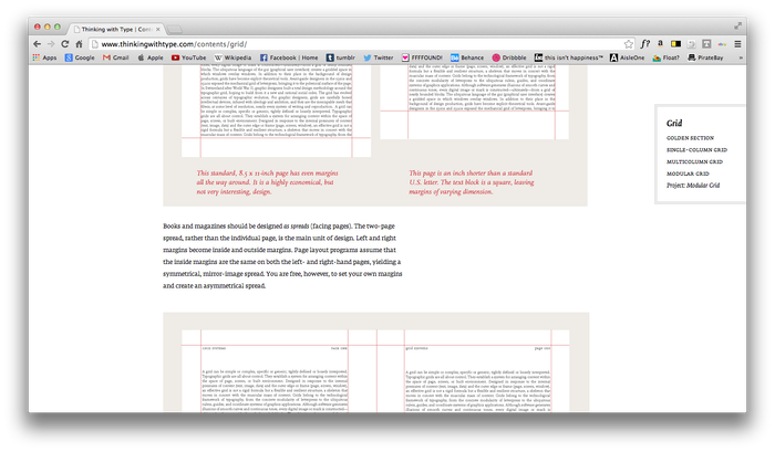 Thinking With Type website 7