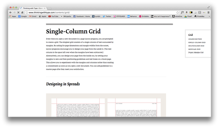 Thinking With Type website 8