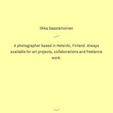 Ilkka Saastamoinen website
