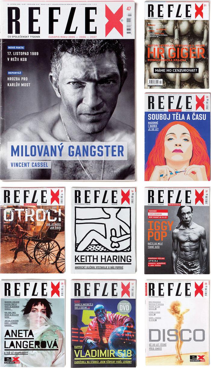 Reflex Magazine covers 1