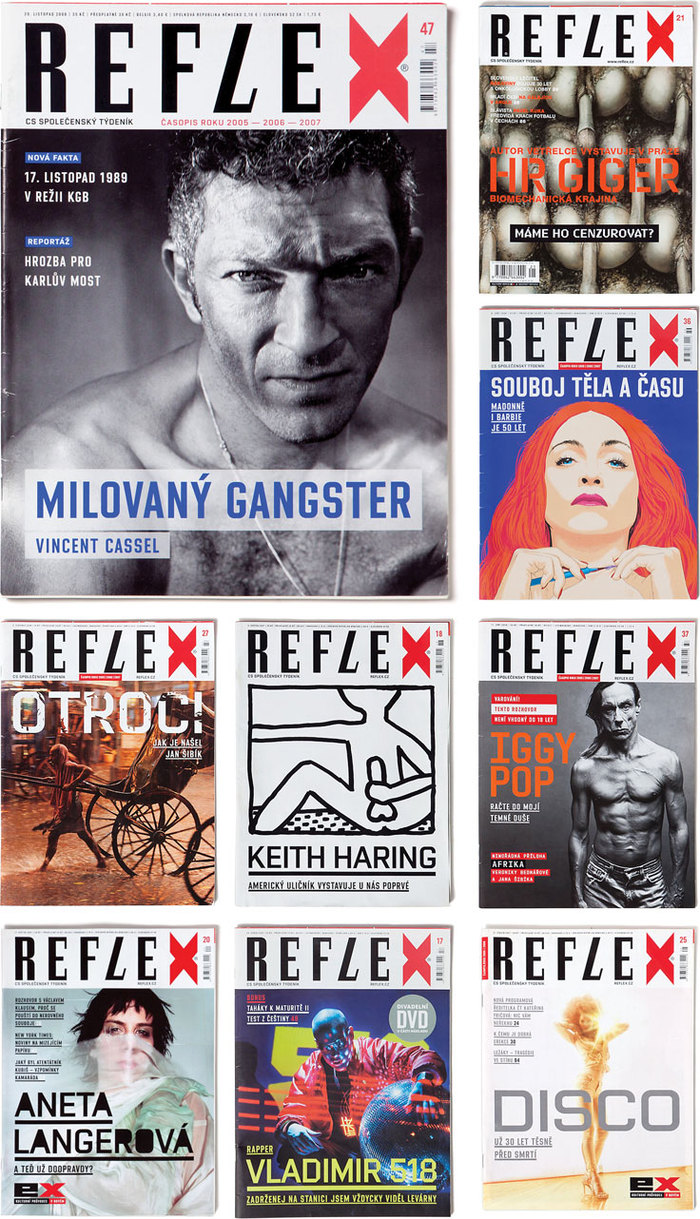 Reflex Magazine covers 1