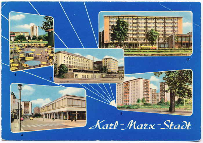 Karl-Marx-Stadt postcard