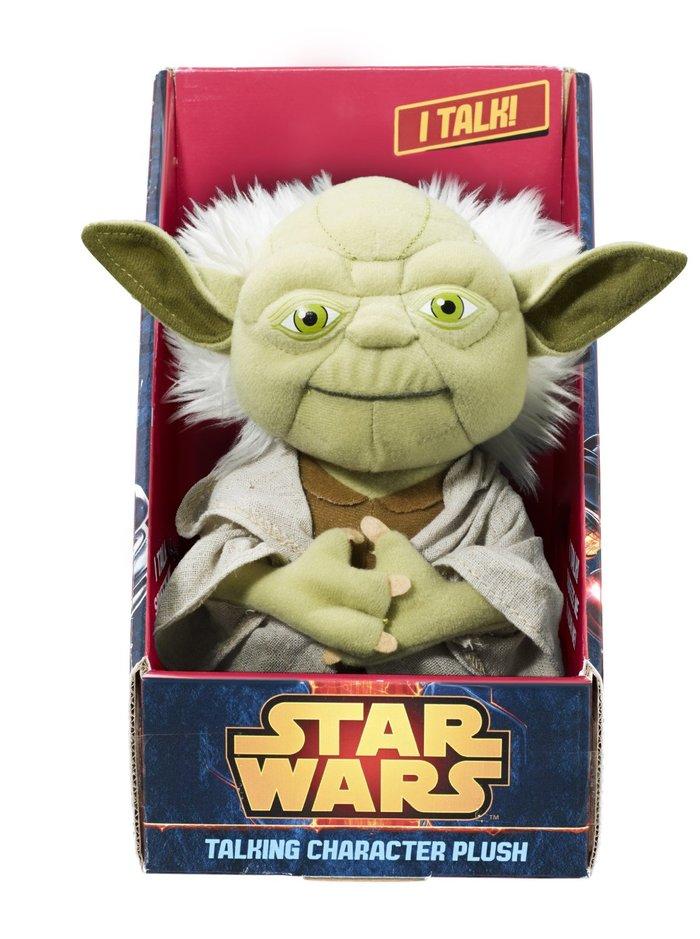 Talking Character Plush – Yoda