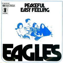 "Eagles – ""Peaceful Easy Feeling"" German single cover"