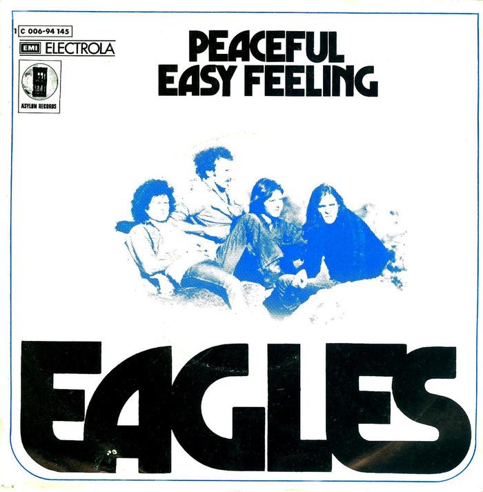"Eagles – ""Peaceful Easy Feeling"" German single cover"