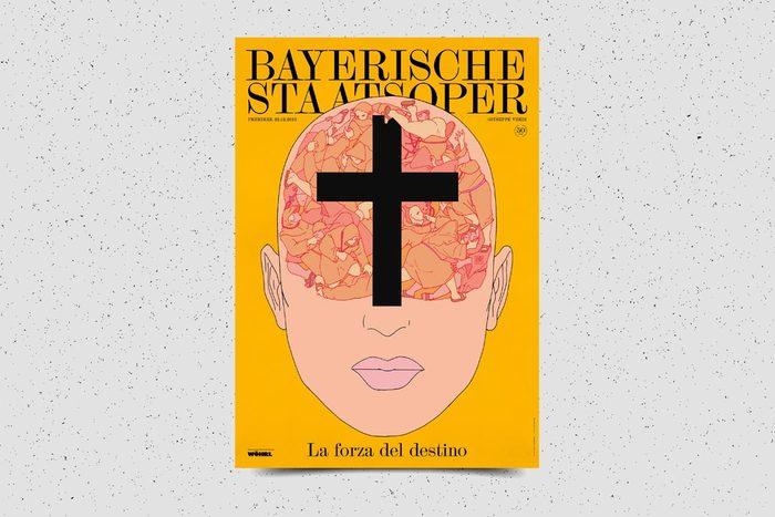 Bayerische Staatsoper posters 2013–2014 2
