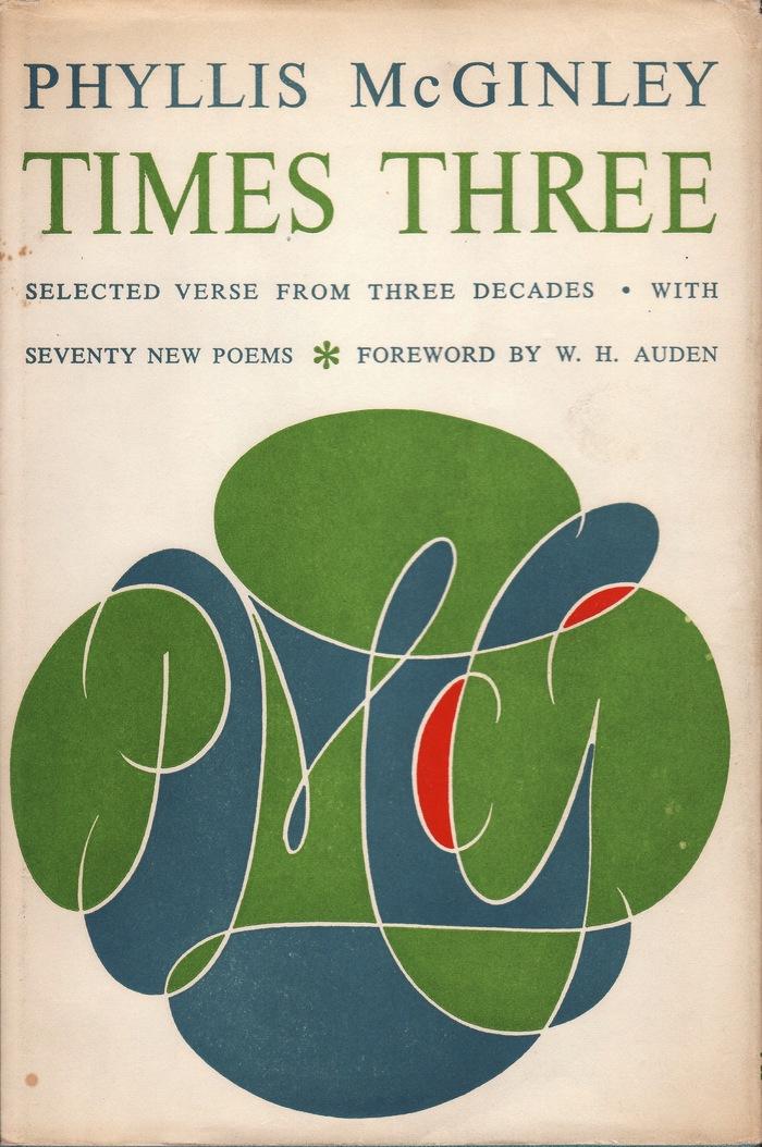 Phyllis McGinley, Times Three 1