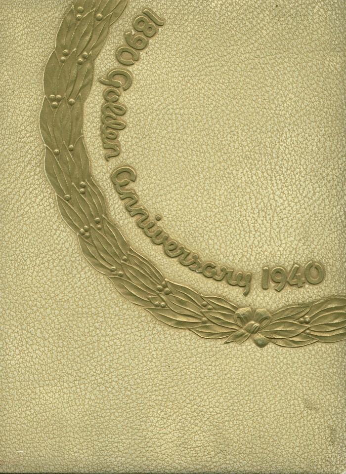 The 1940 Panther, Yearbook of West High School of Salt Lake City, Utah 1