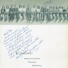 <cite>The 1940 Panther</cite>, Yearbook of West High School of Salt Lake City, Utah