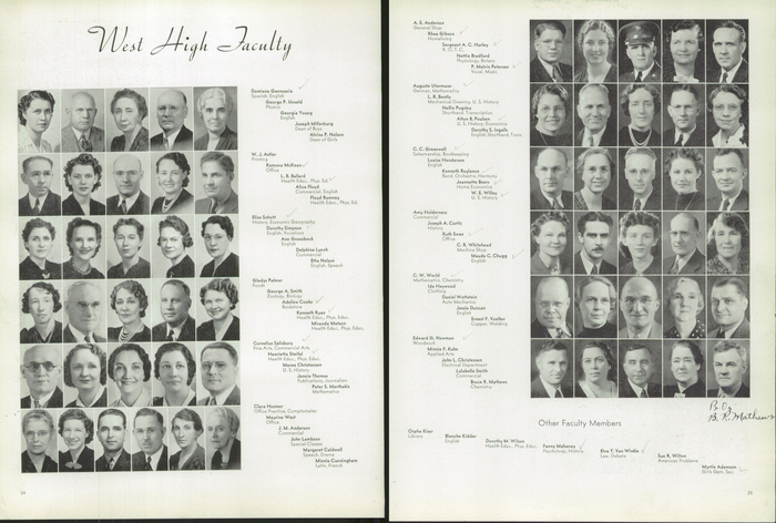 The 1940 Panther, Yearbook of West High School of Salt Lake City, Utah 6