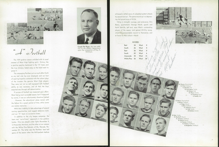 The 1940 Panther, Yearbook of West High School of Salt Lake City, Utah 7