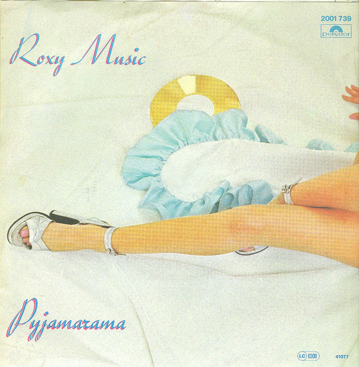 "Roxy Music – ""Virginia Plain"" / ""Pyjamarama"" German single cover 2"