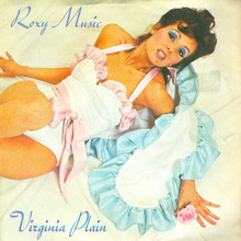 "Roxy Music – ""Virginia Plain"" / ""Pyjamarama"" German single cover"