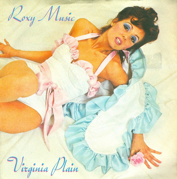 "Roxy Music – ""Virginia Plain"" / ""Pyjamarama"" German single cover 1"