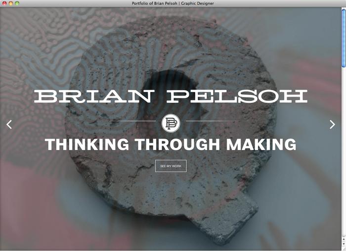 Brian Pelsoh website 1