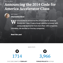 <cite>Code for America</cite> website