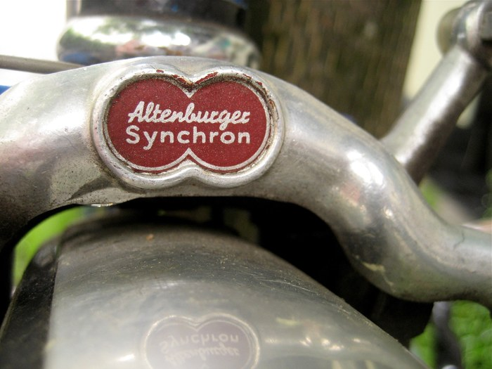Altenburger Synchron brake fork badge 1