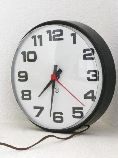 1970s Petter Pepper 10-inch wall clock 1