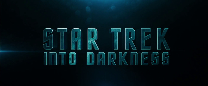 Opening title set in Horizon, the original Star Trek typeface.