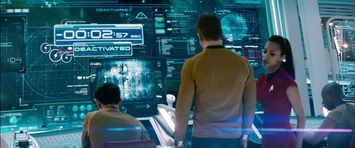 Star Trek: Into Darkness titles, production, promotion 14