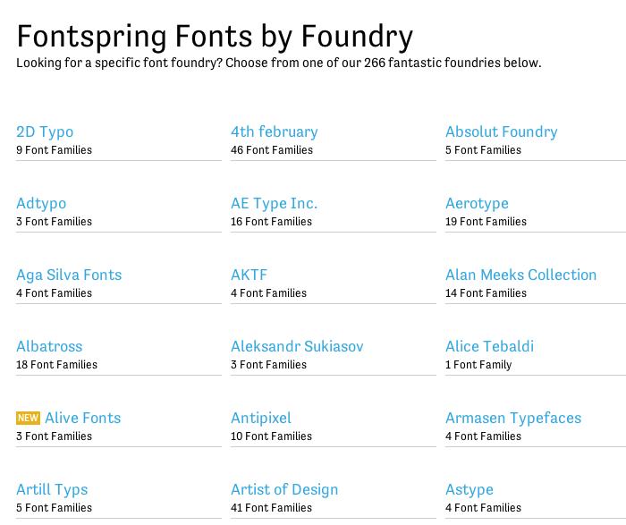 Fontspring.com 4