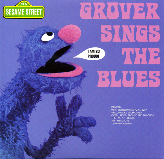 Grover Sings The Blues