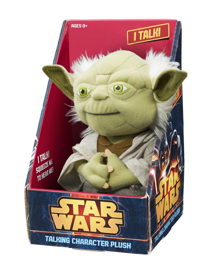 Talking Character Plush – Yoda